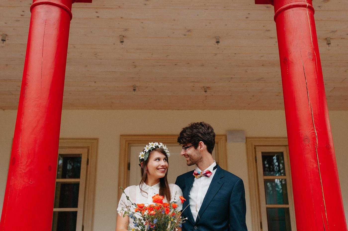 spontaniczny sesja ślubna