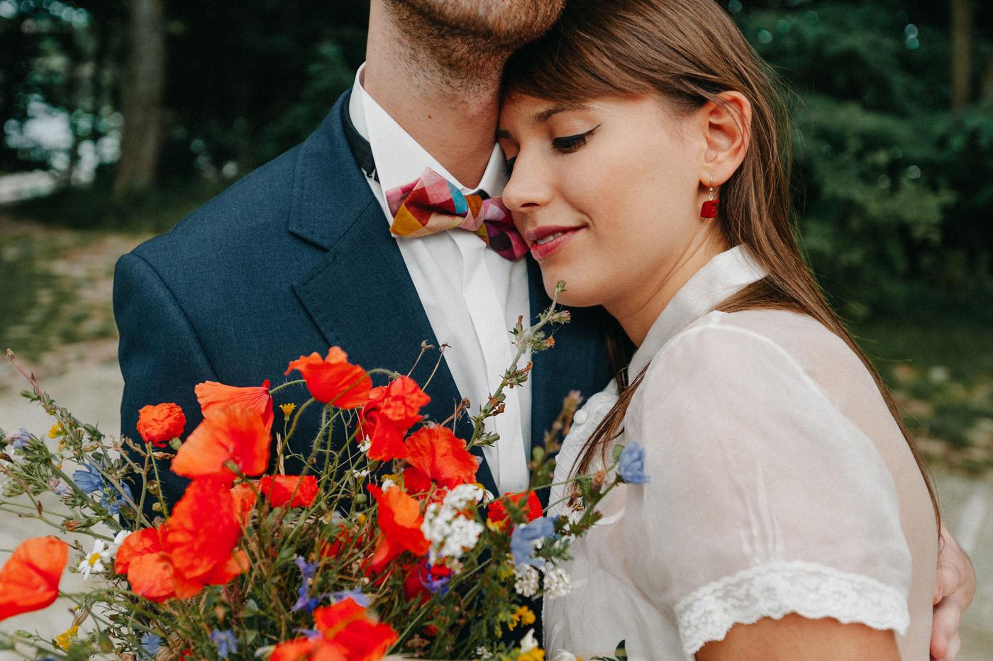 Naturalna sesja ślubna nad jeziorem- Luke Sezeck