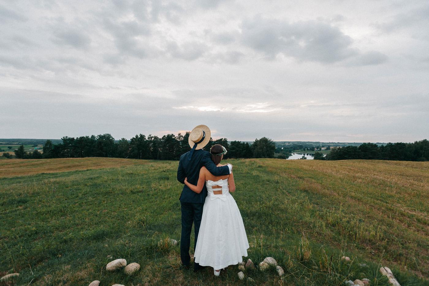 sesja ślubna na łonie przyrody