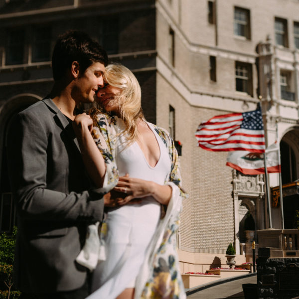 San Francisco City engagement shoot