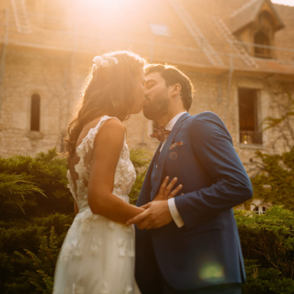 French Wedding in L'Abbaye de Cercanceaux