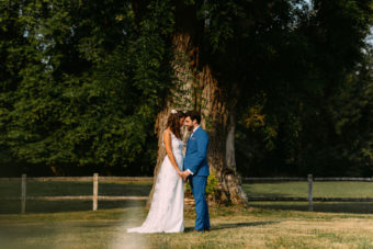 French Wedding in Royal Abbey de Cercanceaux