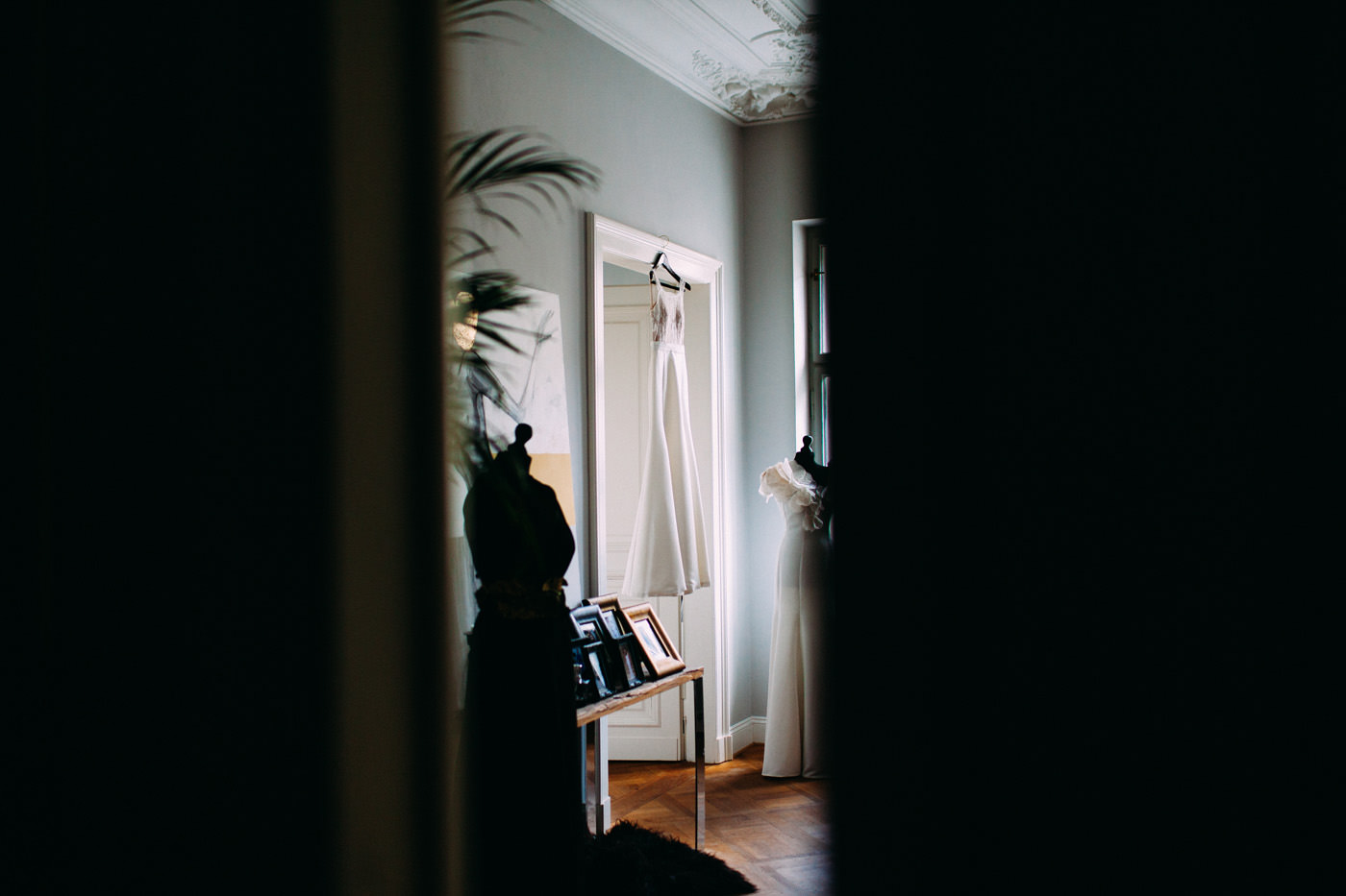 suknia slubna od robert czerwik- wesele amber room warszawa- luke sezeck