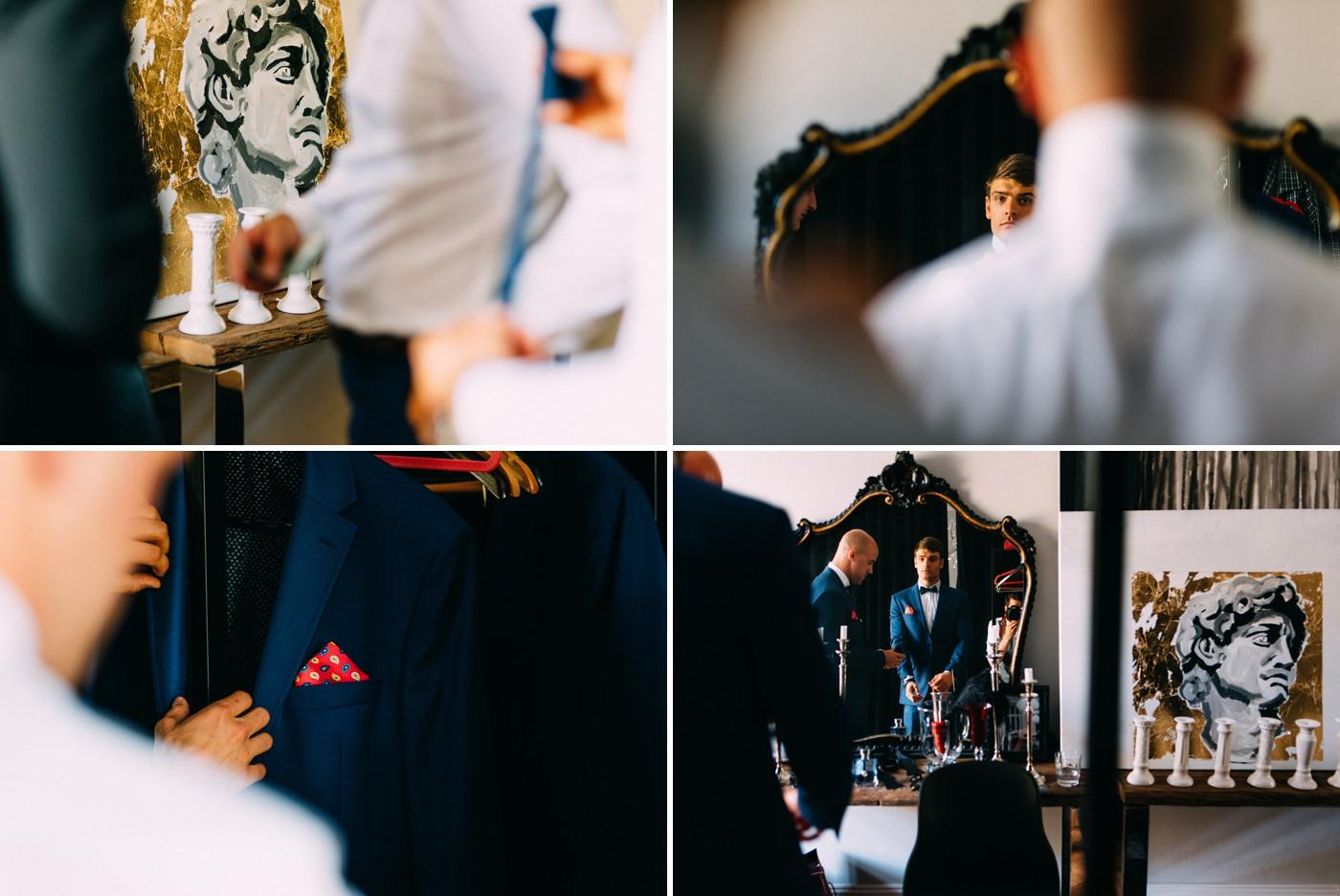 przygotowania ślubne u robert czerwik- wesele amber room- luke sezeck