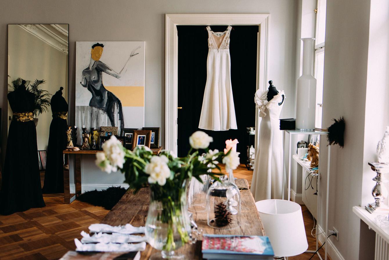 suknia slubna w salonie robert czerwik- wesele amber room warszawa- luke sezeck
