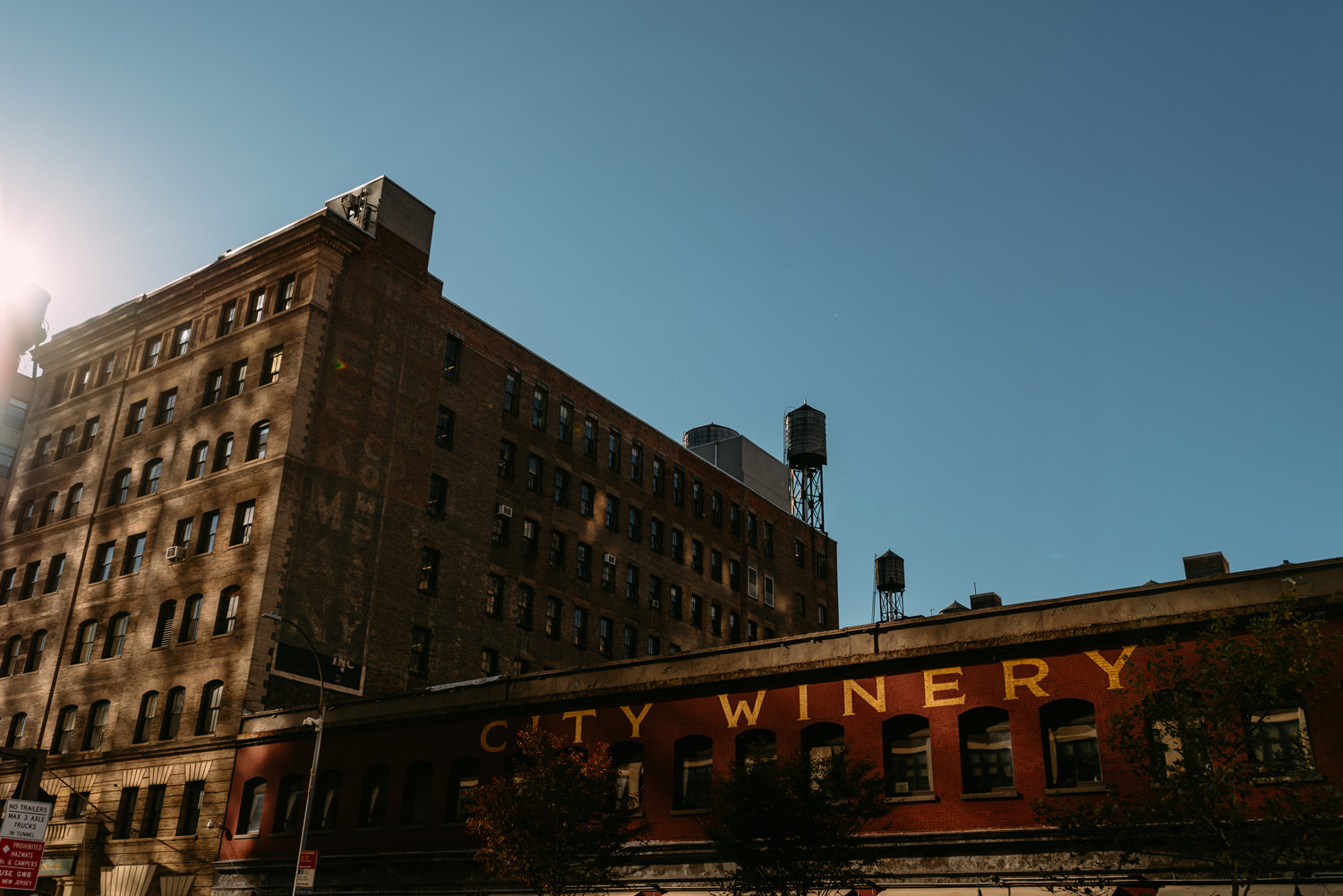 new york city winery wedding - the winery building NYC- Luke Sezeck