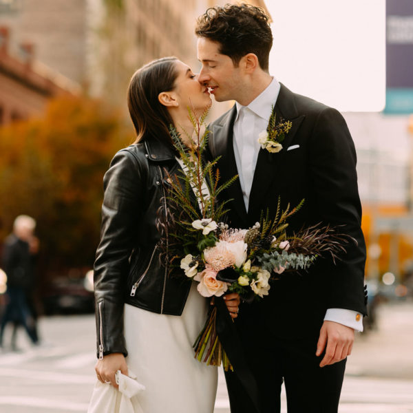 New York City Winery Jewish Wedding