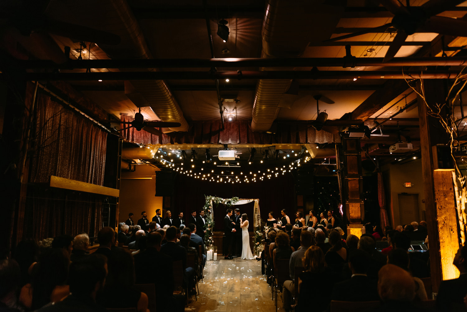 new york city winery wedding- jewish ceremony