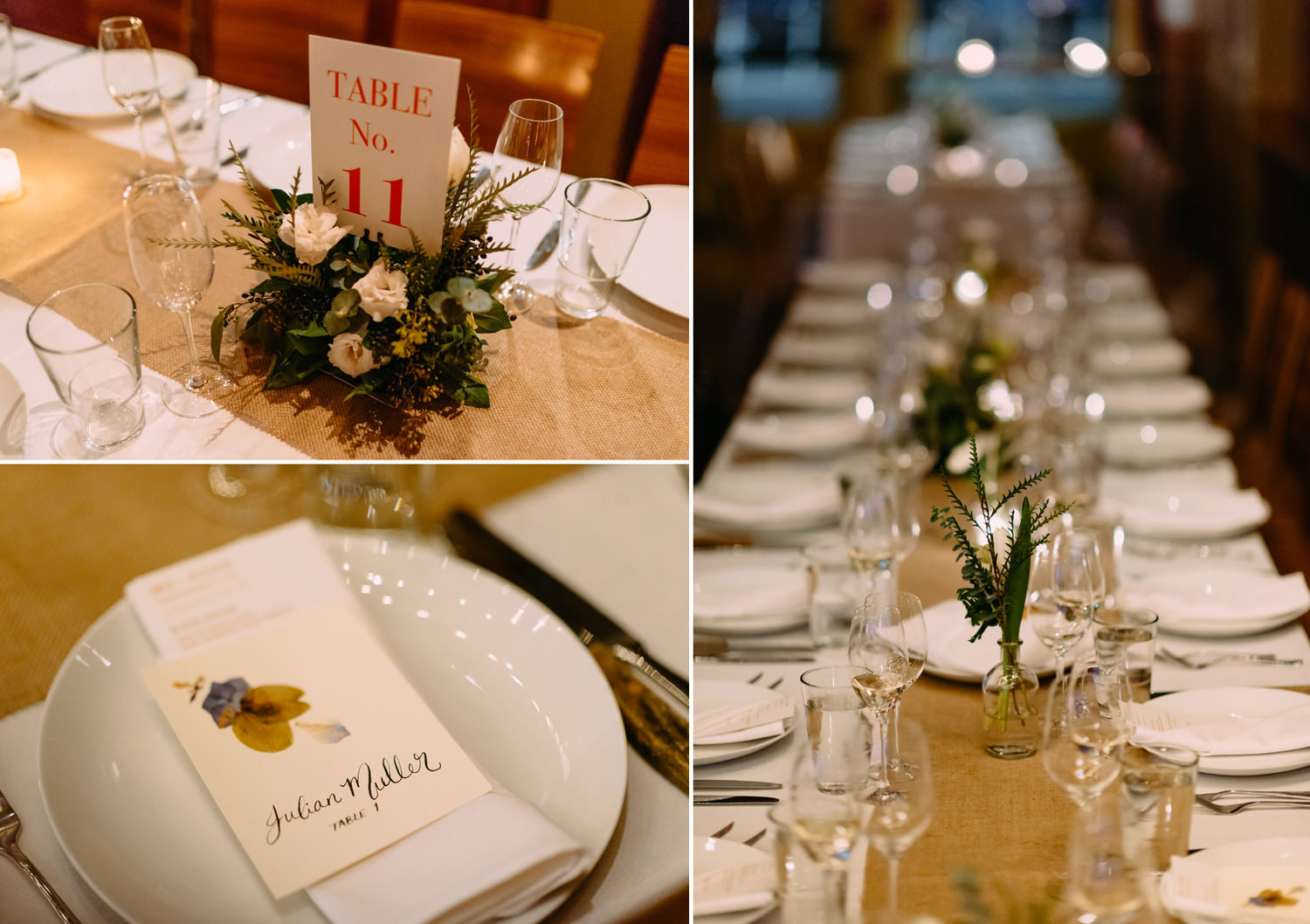 amazing table decorations at new york city winery wedding- Luke Sezeck