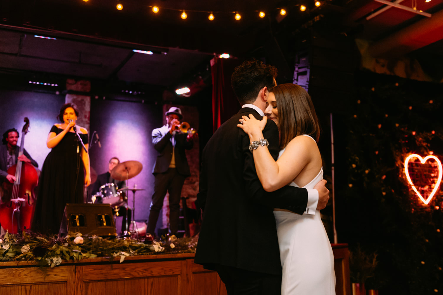 first dance at new york city winery wedding