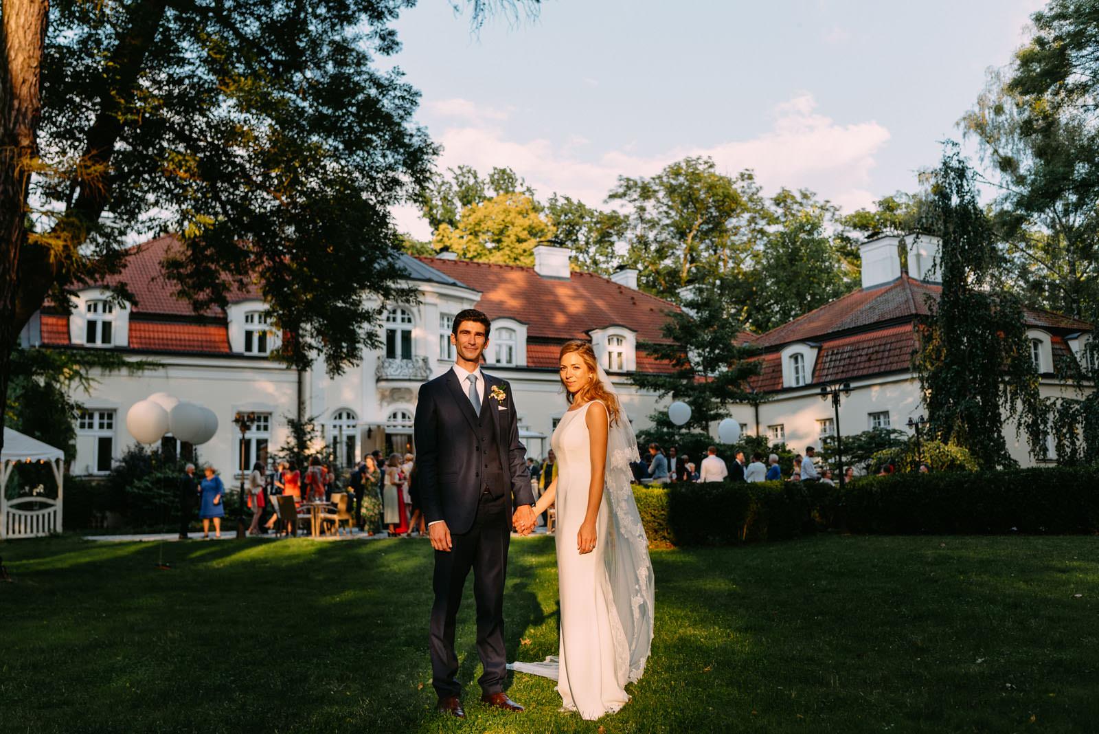 Para młoda i wesele w pałac zdunowo- Luke Sezeck fotograf ślubny Warszawa