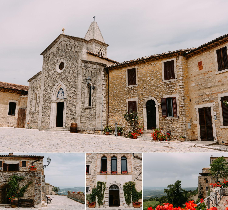 ślub za granica - włoskie wesele w Castello di Titignano - Luke Sezeck