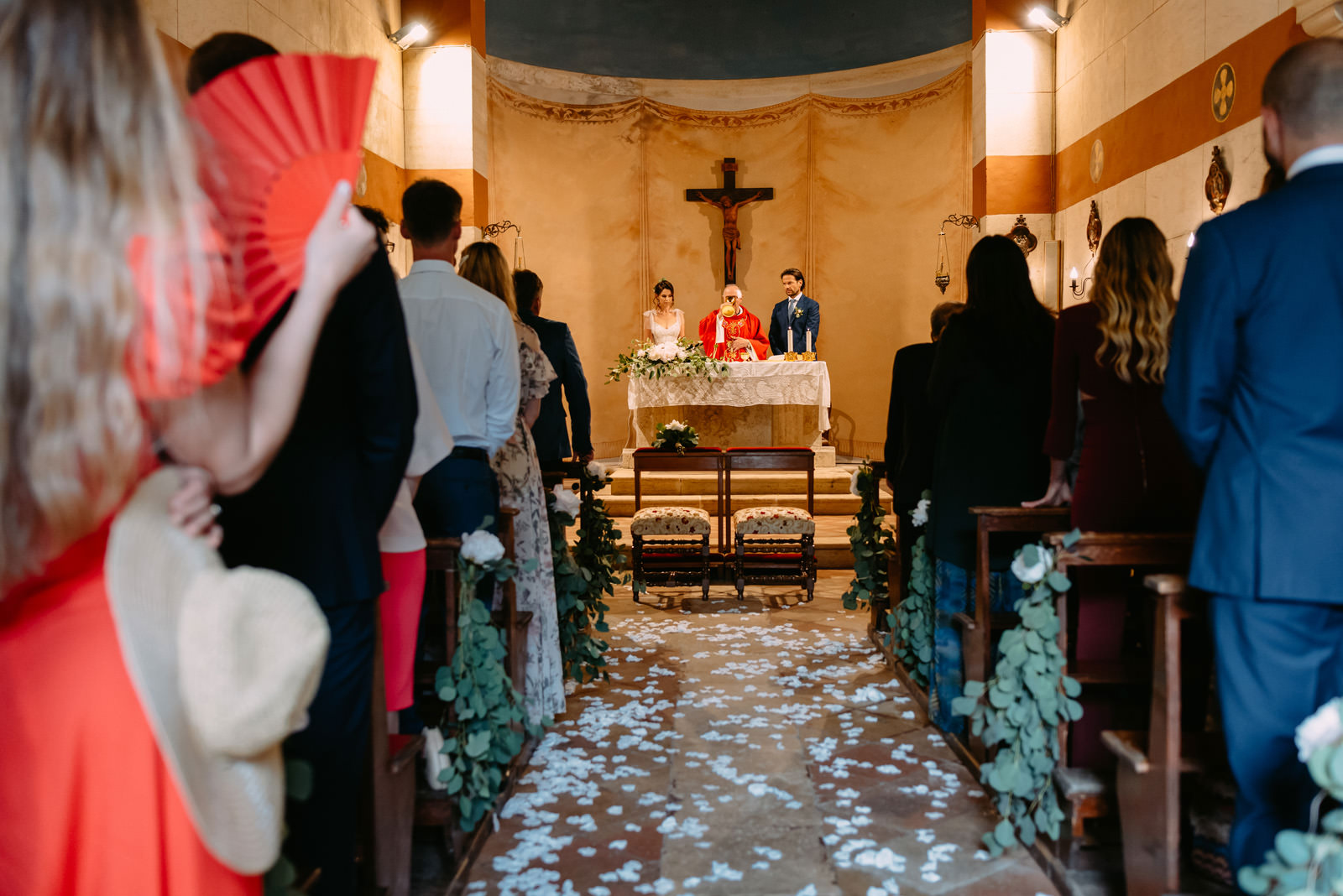 ślub kościelny we włoskiej Umbrii