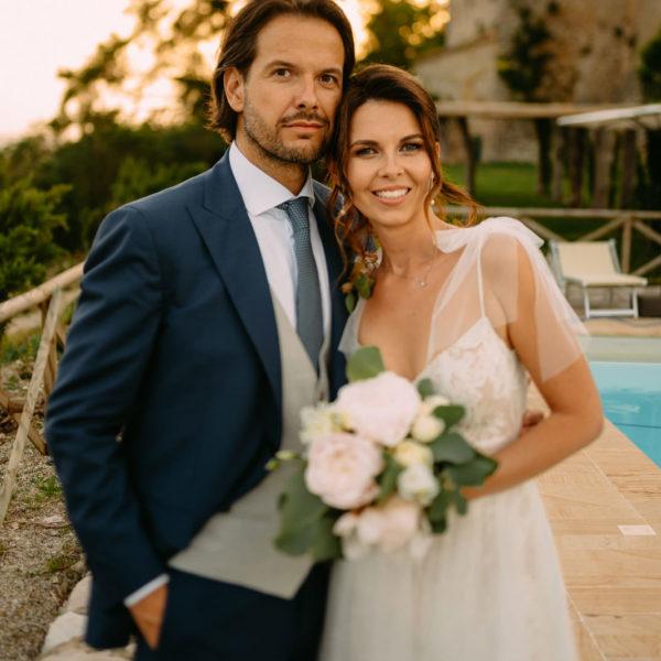 Ślub za granicą - włoskie wesele w Castello di Titignano