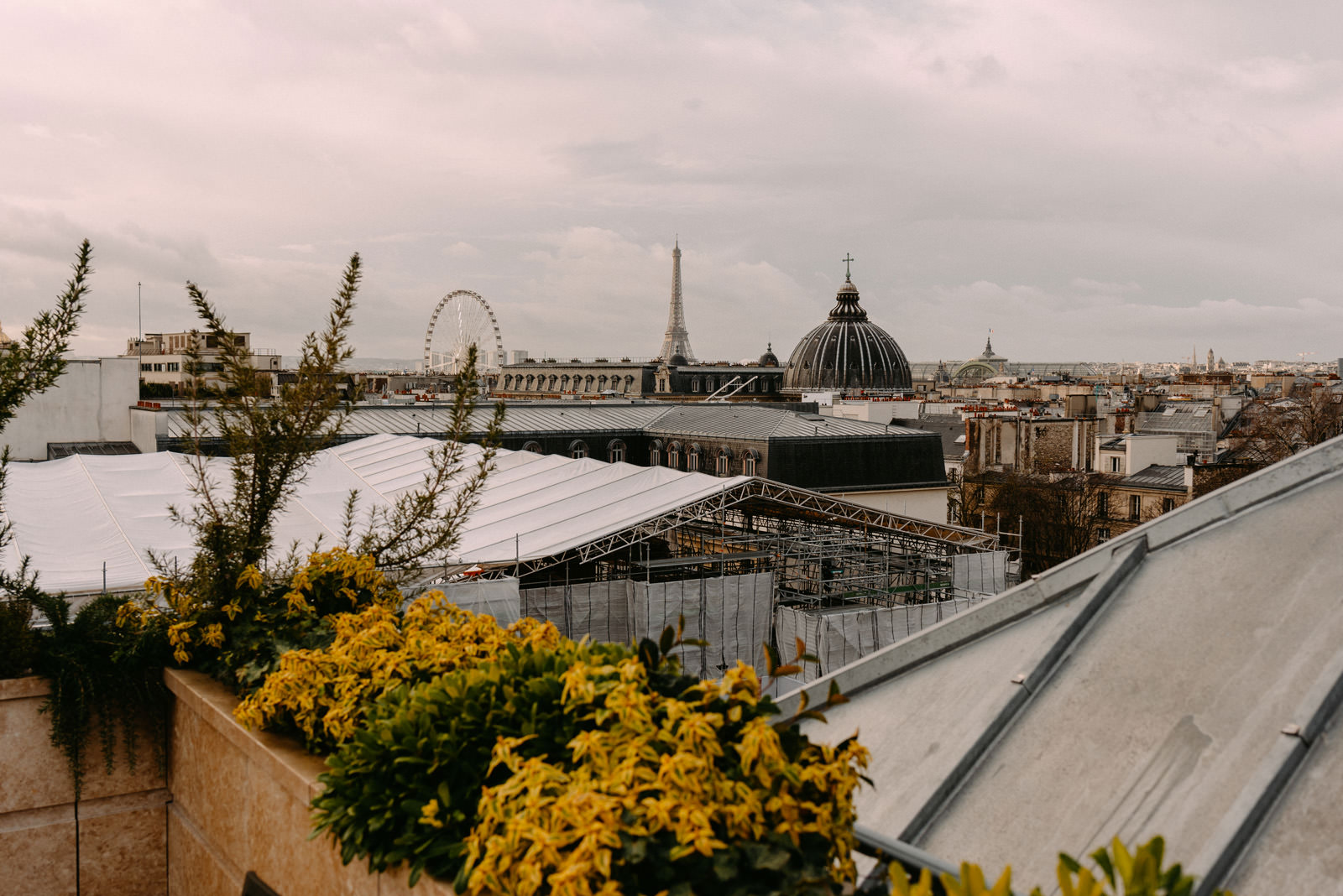 Ritz Paris rooftop and city view by Luke Sezeck