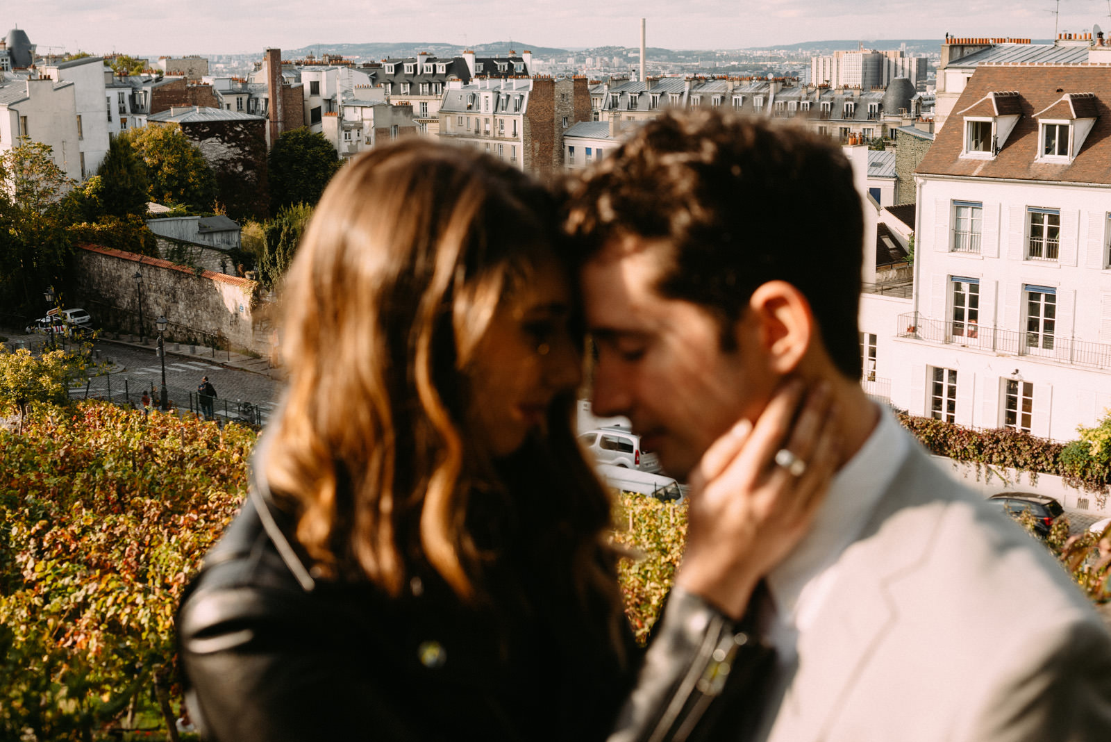 couple photo crafted by Luek Sezeck - engagement photographer in Paris