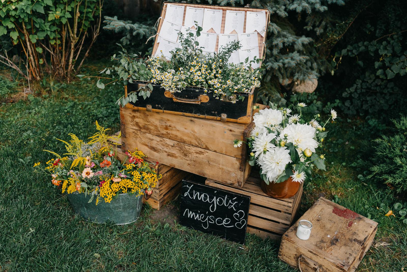 Osada młyńska Oryszew- kwiaty ślubne- Luke Sezeck fotografia
