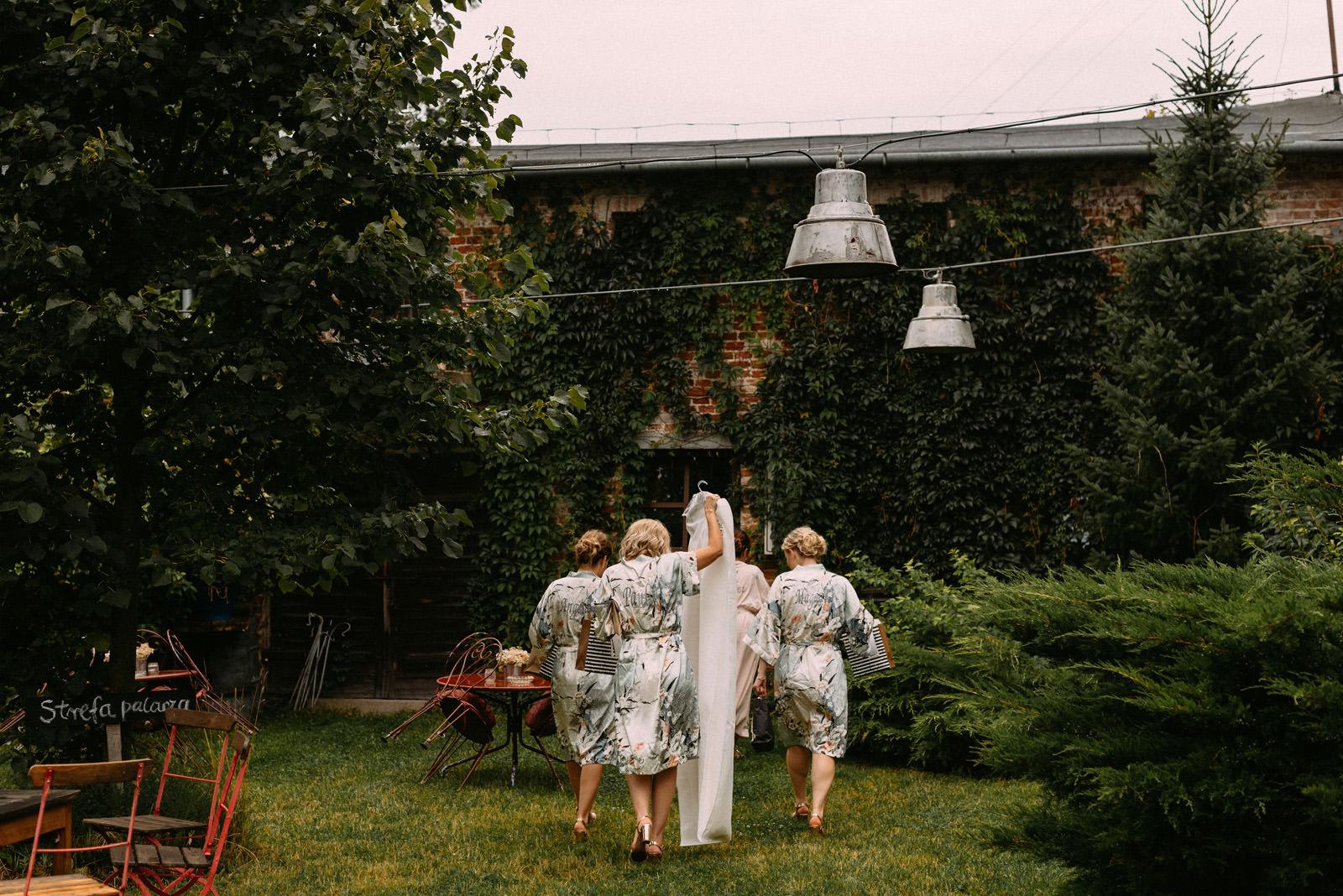 przygotowania do ślubu i wesela w Osadzie Młyńskiej