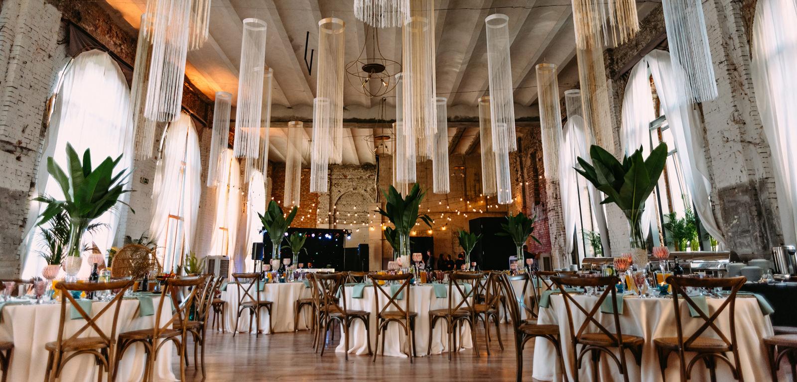piękna sala weselna boho w Reduta Banku Polskiego Warszawa