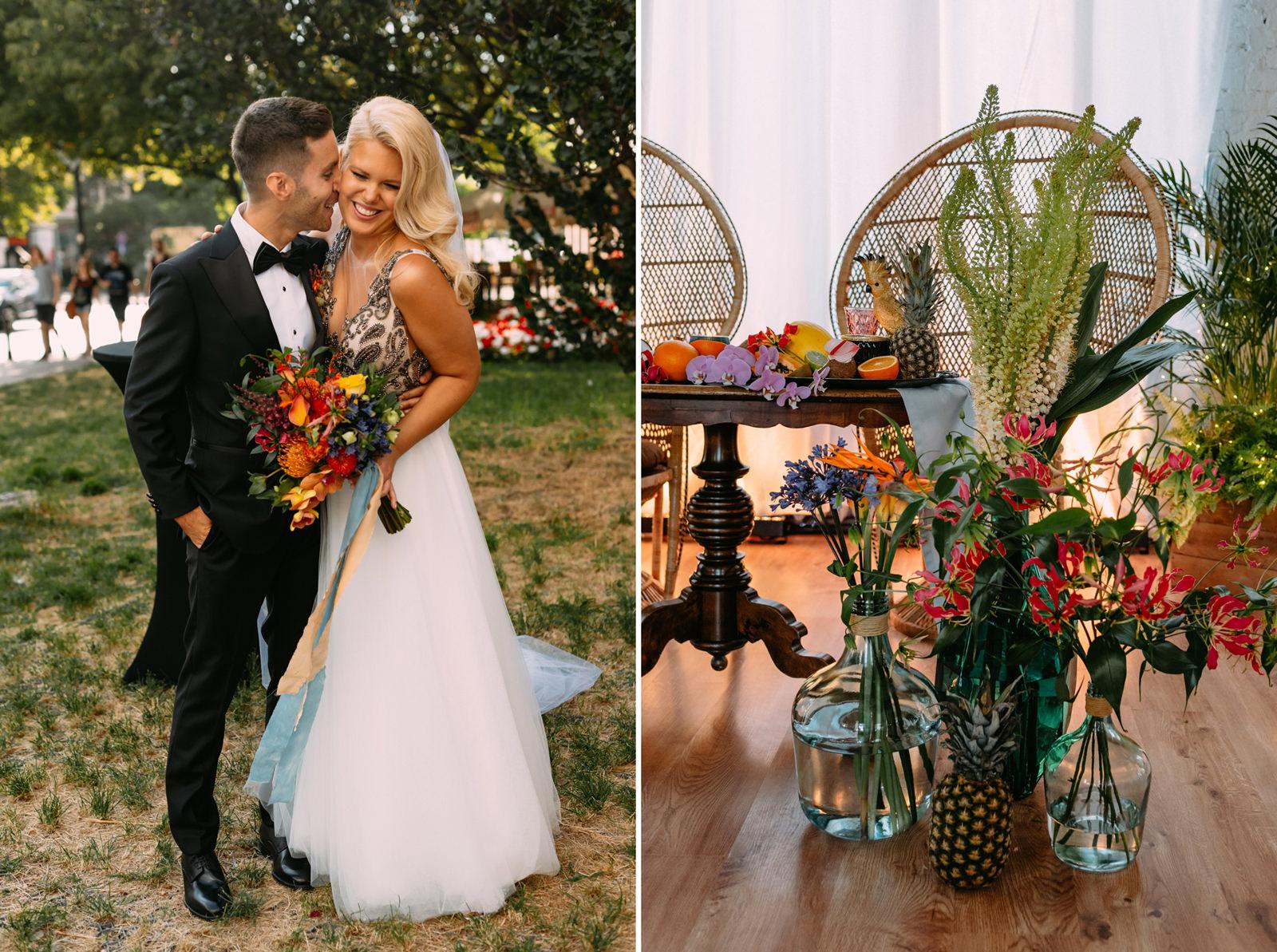 wesele tropikalne w Warszawie