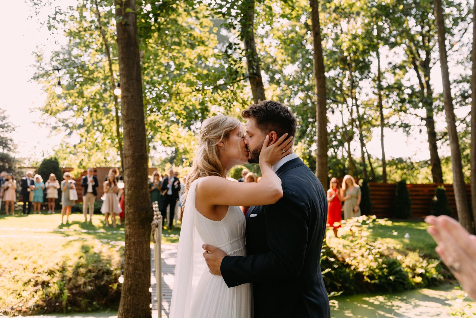 ślub w ogrodzie - Łódź