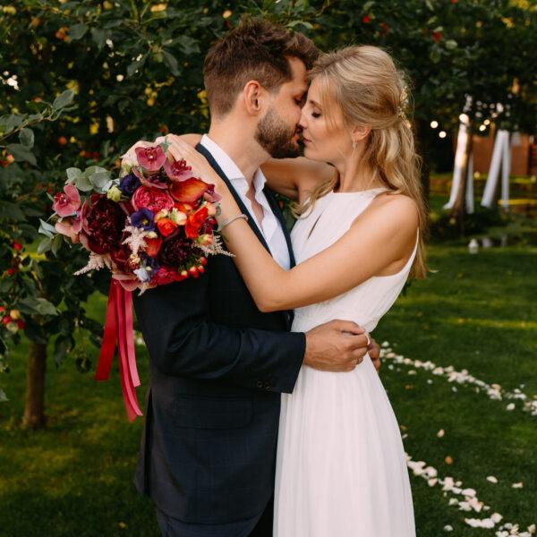 Ślub w plenerze w Łodzi